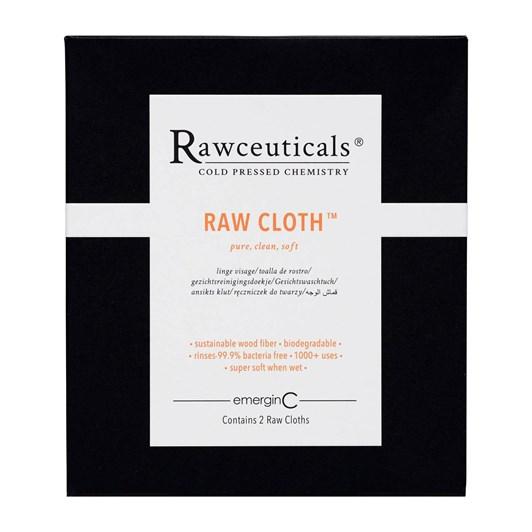 Rawceuticals emerginC Raw Cloth Facial Cloth x 2