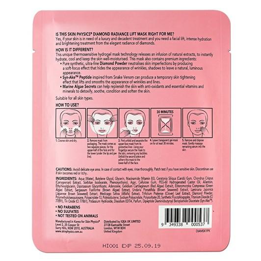 Skin Physics Ultra Radiance Diamond Mask