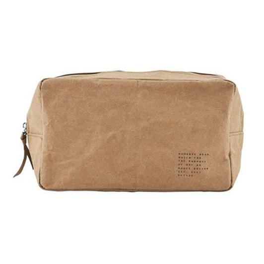 Meraki Nomadic Toilet Bag Light Brown