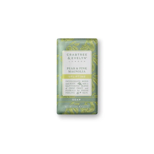 Crabtree & Evelyn Pear And Pink Magnolia Triple Milled Soap 158g