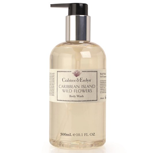 Crabtree & Evelyn Caribbean Island Wild Flowers Body Wash 300ml