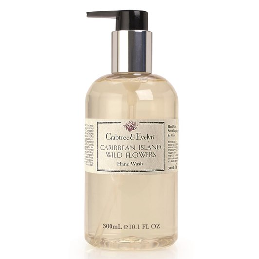 Crabtree & Evelyn Caribbean Island Wild Flowers Hand Wash 300ml