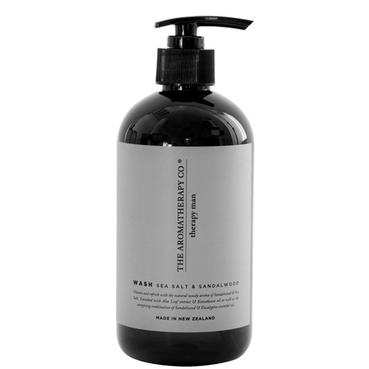 Therapy Man Hand and Body Wash 500ml Sea Salt and Sandalwood