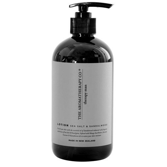 Therapy Man Hand and Body Lotion 500ml  Sea Salt and Sandalwood