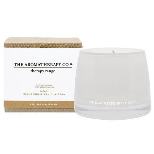 The Aromatherapy Co Therapy® Candle Balance - Cinnamon & Vanilla Bean