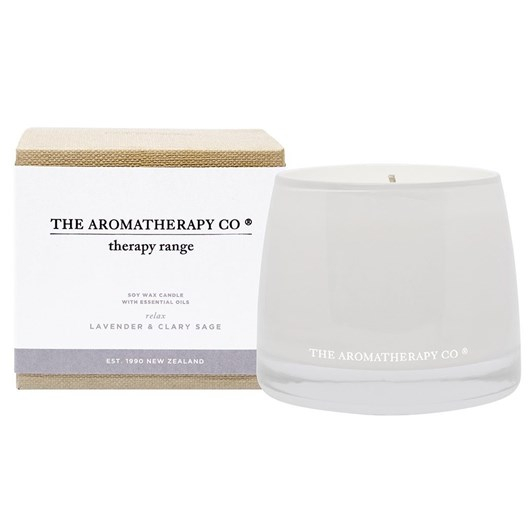 The Aromatherapy Co Therapy® Candle Relax - Lavender & Clary Sage