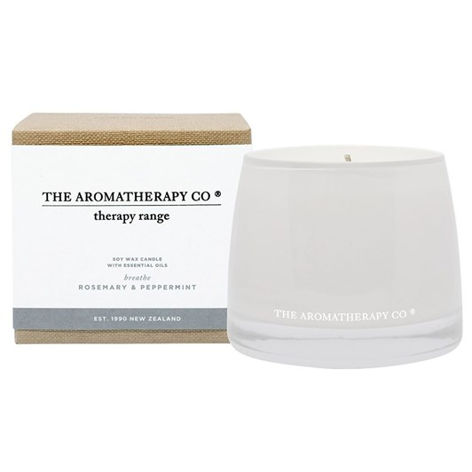 The Aromatherapy Co Therapy® Candle Breathe - Rosemary & Peppermint