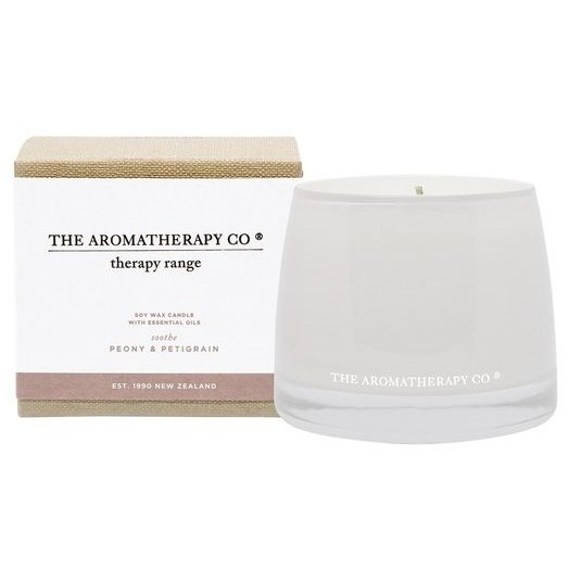 Therapy Candle Soothe 260g Peony and Petitgrain