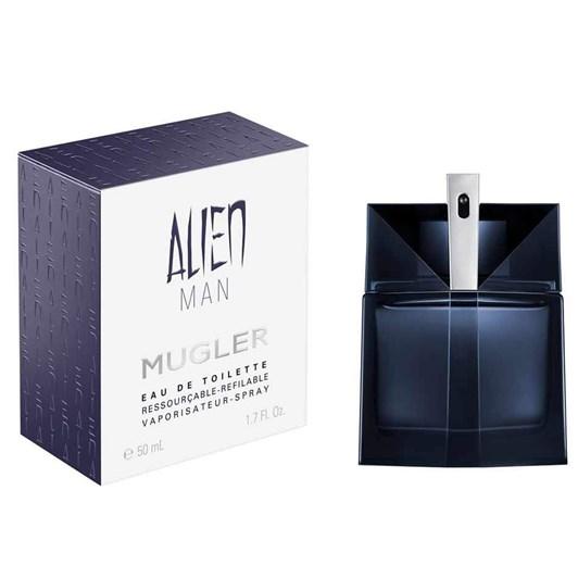 Thierry Mugler Alien Man Eau De Toilette 50ml Refillable