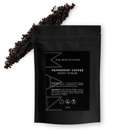 The Skin Kitchen Peppermint Coffee Body Scrub