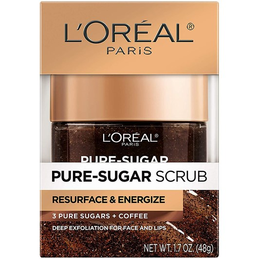 L'Oreal Paris Pure Sugar Resurface & Energize Kona Coffee Scrub