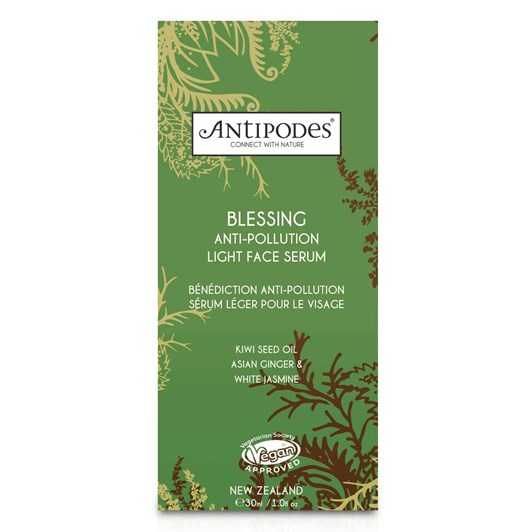 Antipodes Blessing Anti-pollution Light Face Serum 30ml