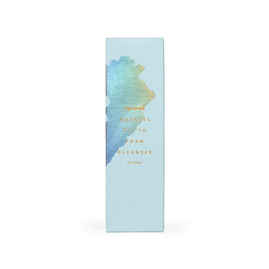 Syrene Aqua Gel Oil to Foam Cleanser 120ml