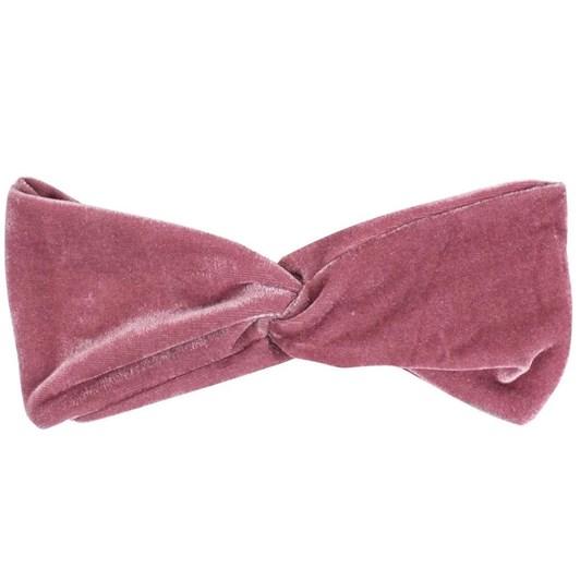 Simply Essential Velvet Cosmetic Turban Pink