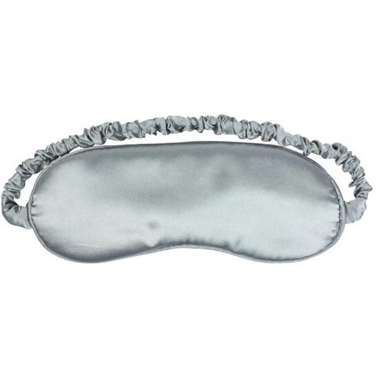 Simply Essential Satin Eye Mask Silver