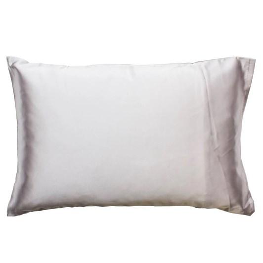 Simply Essential Satin Pillow Slip Silver