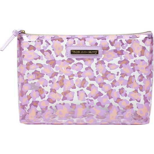Tender Love + Carry Clear Animal Holdall - Pink
