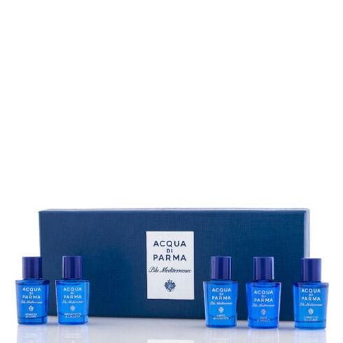 Acqua di Parma Blu Med EDT Miniature Set (5 x 5ml)