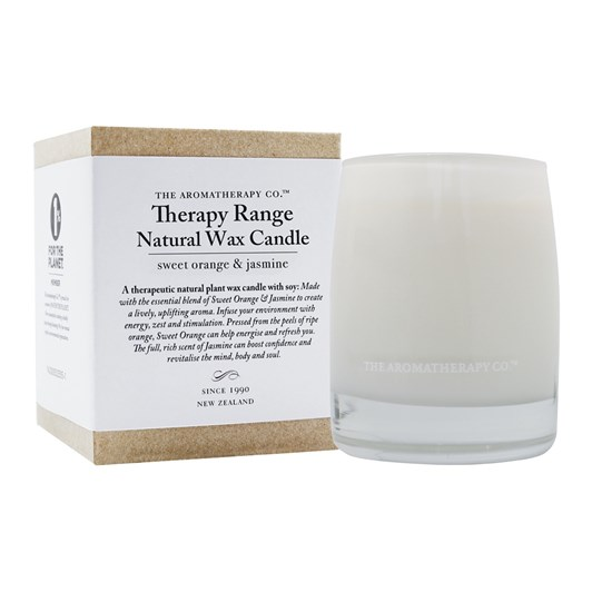 Therapy Sweet Orange and Jasmine 260g Candle