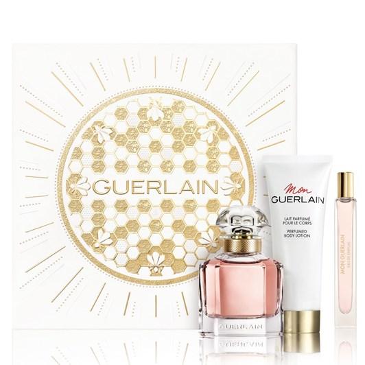 Guerlain Mon Guerlain Xmas EDP 50ml + 10ml Purse Spray + Body Lotion 75ml