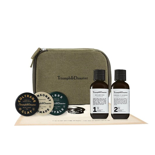Triumph&Disaster Road Less Travelled - Dopp & Haircare Travel Kit
