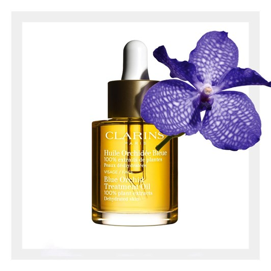 Clarins Blue Orchid Treatment Oil - Dehydrated Skin 30ml