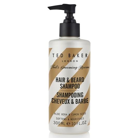 Ted Baker Ted's Grooming Rooms Hair & Beard Shampoo 300ml