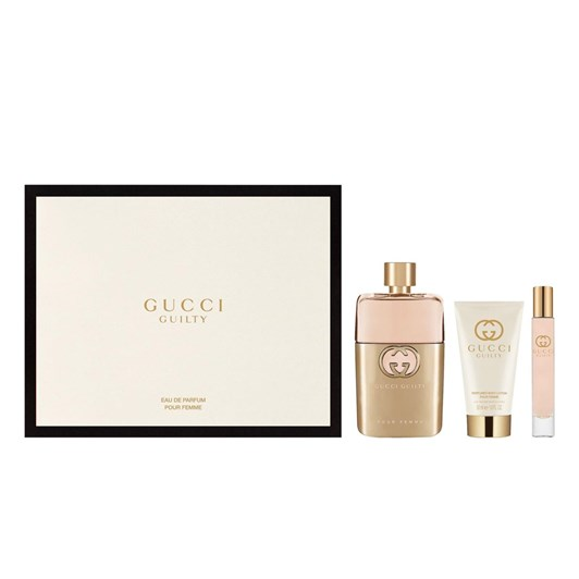 Gucci Guilty Revolution EDP Set EDP 90ml + Body Lotion 50ml + 7.4ml Roller
