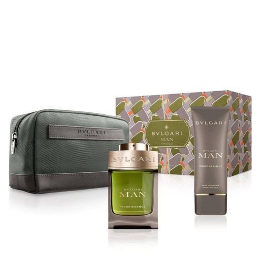 Bvlgari Man Wood Essence Fragrance Gift Set