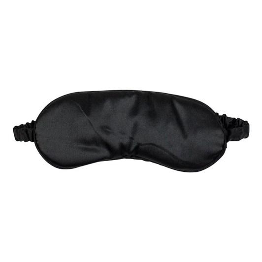Simply Essential Satin Eye Mask Black