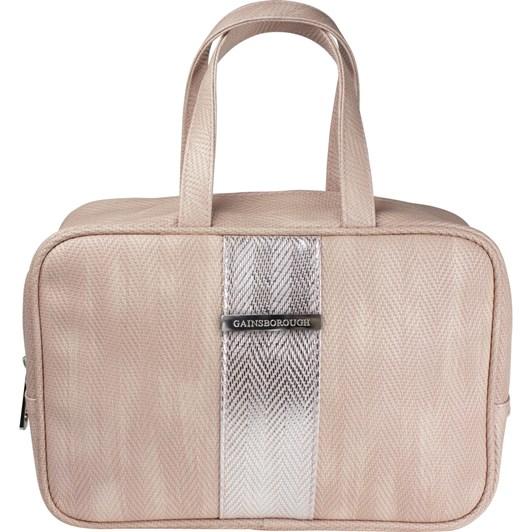 Gainsborough Metallic Weave Pink Handle Bag