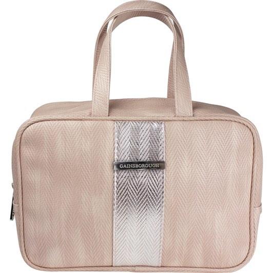 Gainsborough Metallic Weave Pink Handle Bag