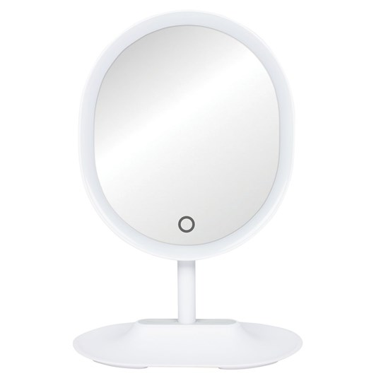 Simply Essential Makeup Mirror with LED and Detachable 5x Magnification