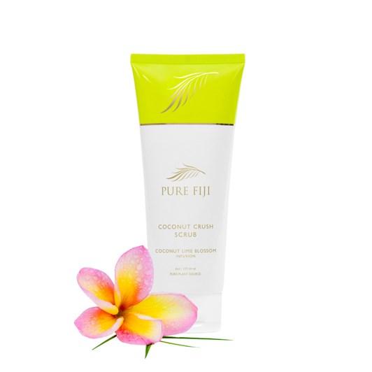 Pure Fiji Coconut Crush Scrub Coconut Lime Blossom 177ml