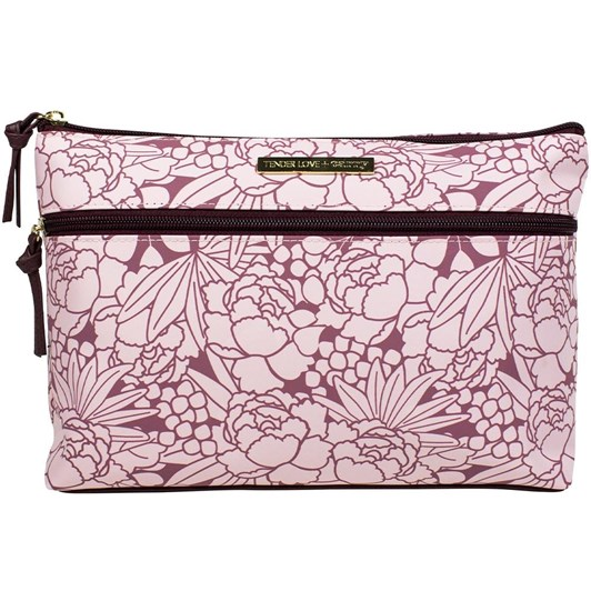 Tender Love + Carry Tropicana Double Zip Holdall