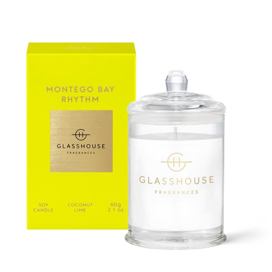 Glasshouse GF 60g MONTEGO BAY RHYTHM Candle