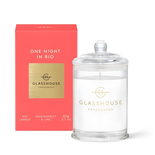 Glasshouse GF 60g ONE NIGHT IN RIO Candle