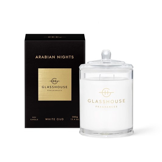 Glasshouse GF 380g ARABIAN NIGHTS Candle