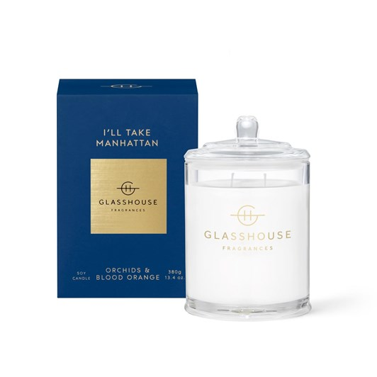 Glasshouse GF 380g I'LL TAKE MANHATTAN Candle
