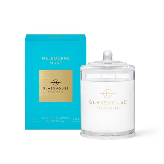 Glasshouse GF 380g MELBOURNE MUSE Candle