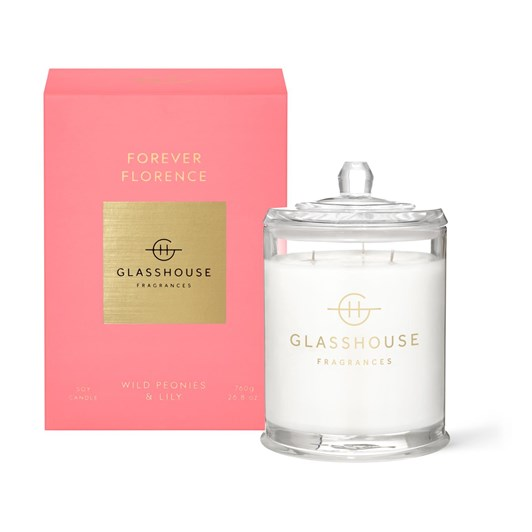 Glasshouse GF 760g FOREVER FLORENCE Candle