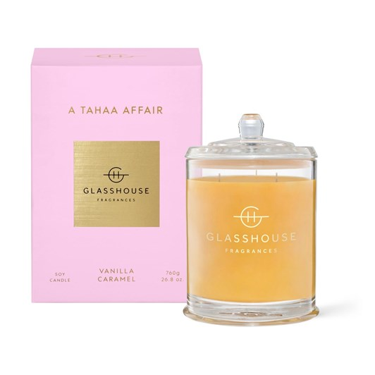 Glasshouse Fragrances A Tahaa Affair 760g Triple Scented Soy Candle