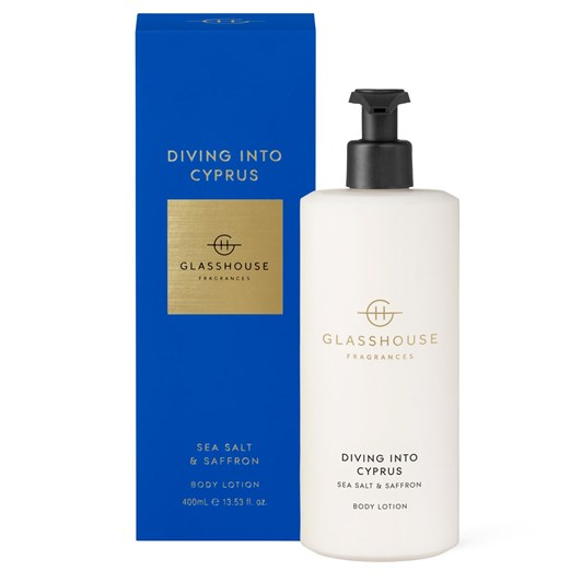 Glasshouse Diving into Cyprus Body Lotion 400ml