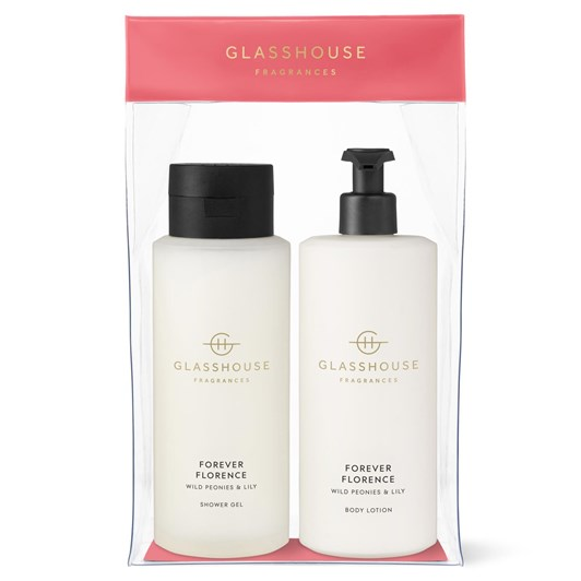 Glasshouse Fragrances GF 800ml FOREVER FLORENCE Body Set