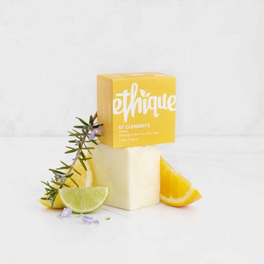 Ethique St Clements Solid Shampoo Bar 110g