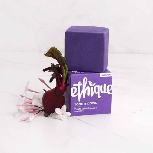 Ethique Tone It Down Purple Solid Shampoo Bar 110g