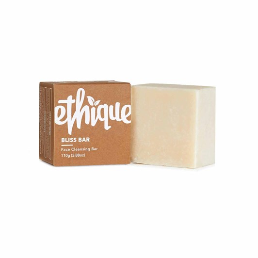 Ethique Bliss Bar Solid face cleanser for normal to dry skin 110g