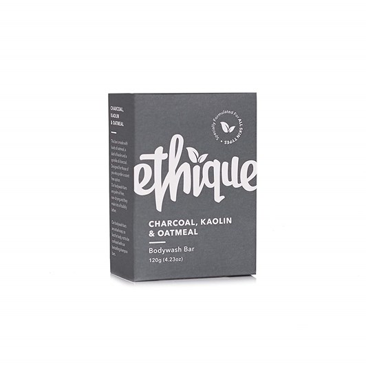 Ethique Charcoal, Kaolin & Oatmeal Bodywash 120g