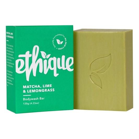 Ethique Matcha, Lime & Lemongrass Solid Bodywash Bar 120g