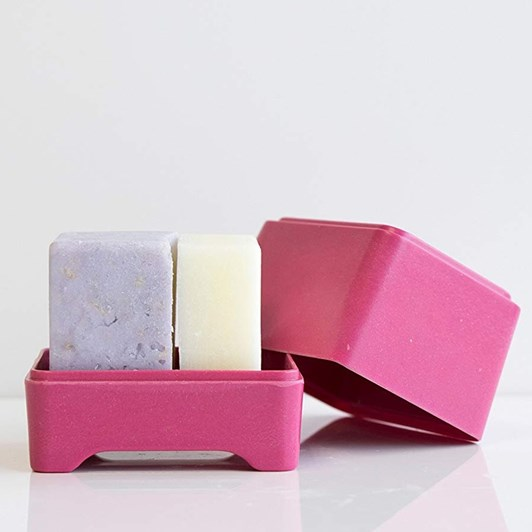 Ethique Pink In-Shower Container